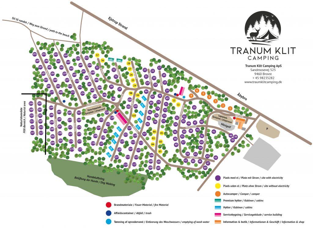 Tranum klit camping